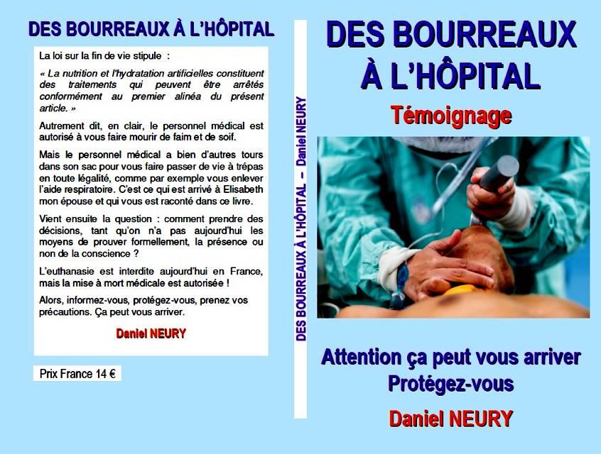 le livre des BOURREAUX A L'HÔPITAL
