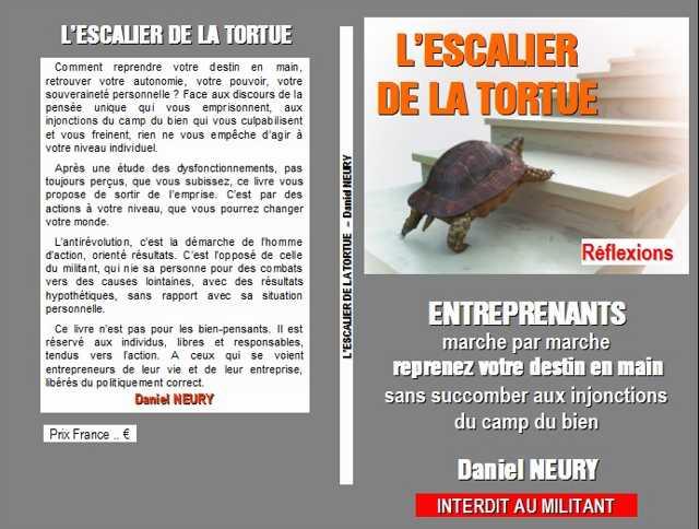 Le livre L'ESCALIER DE LA TORTUE